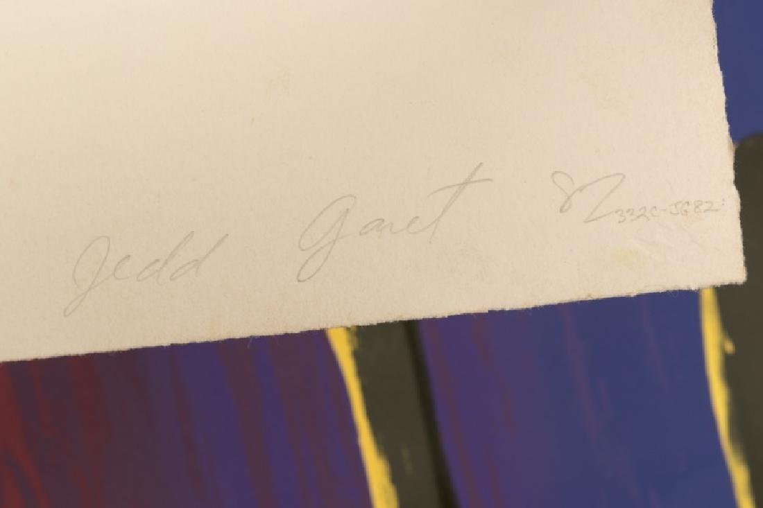 "Jed Garrett Post Modern Signed Litho, ""Nice Sky"" - 2"