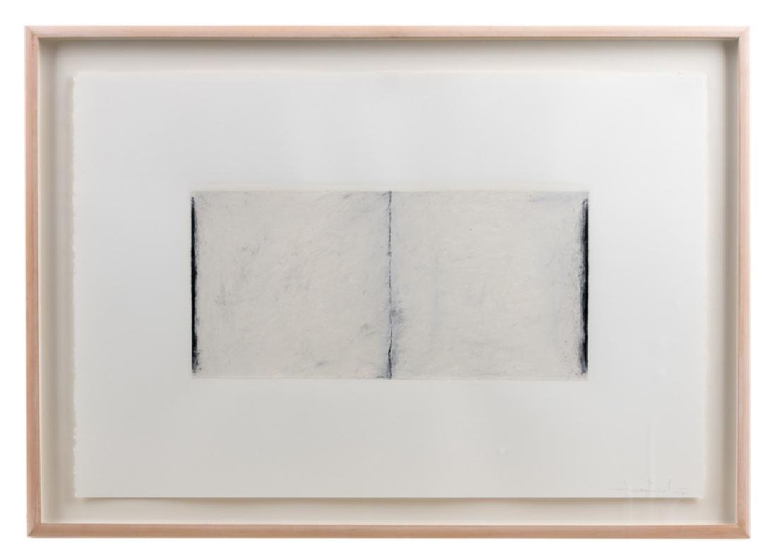 "1987 Gary Gissler ""Untitled III"" Oilstick, Signed"
