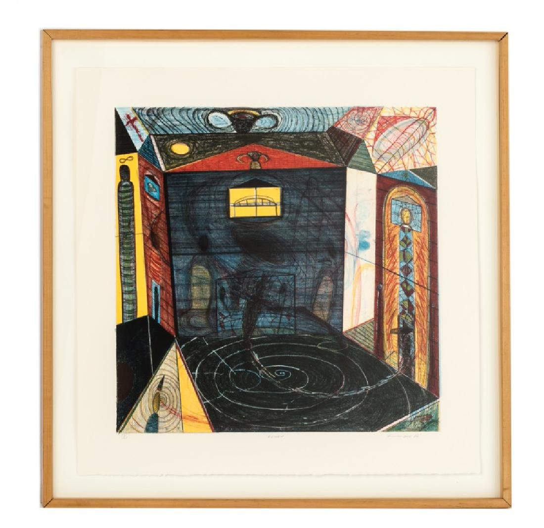 "Richard Hull ""Return"" Signed Lithograph, 1986"