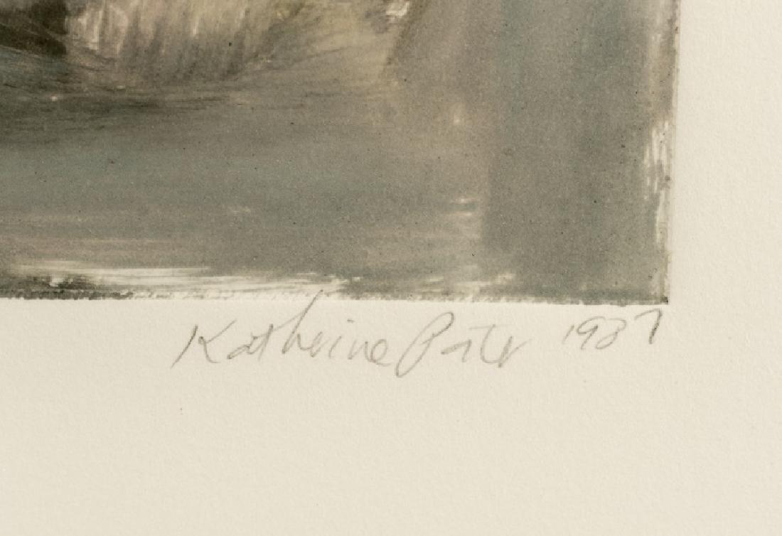 "Katherine Porter ""Untitled 5"", Signed & Dated - 2"
