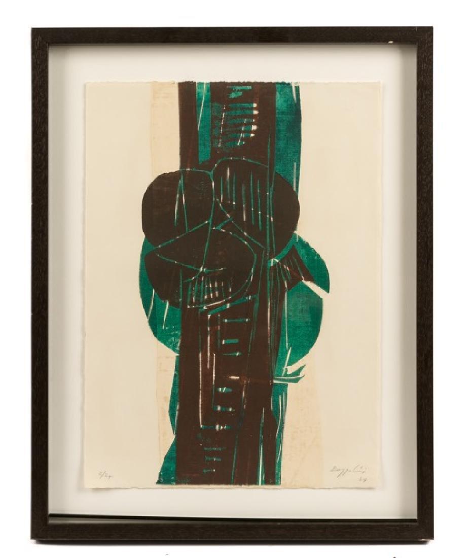 "Silvano Bozzolini ""Untitled"", 1964 Woodcut"