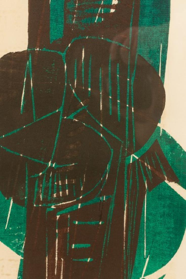 "Silvano Bozzolini ""Untitled"", 1964 Woodcut - 2"
