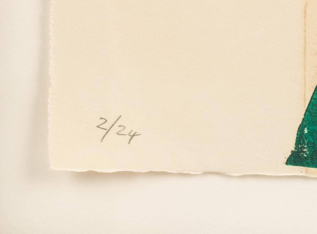 "Silvano Bozzolini ""Untitled"", 1964 Woodcut - 4"