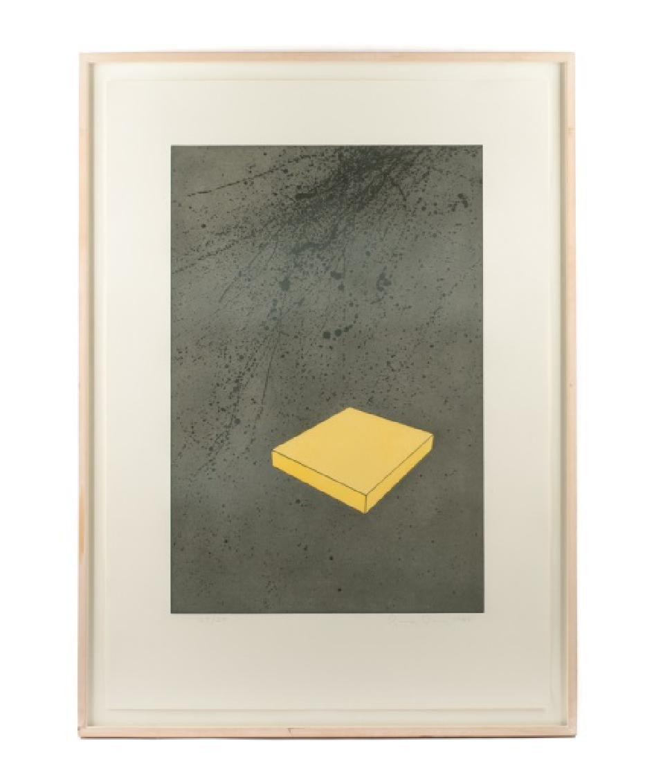 "Ronald Davis ""Yellow Slab"" Aquatint, 1983"