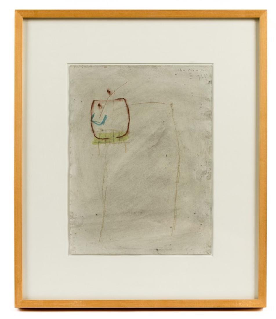 "Joan Cruspinera Munoz ""Untitled"", Watercolor"