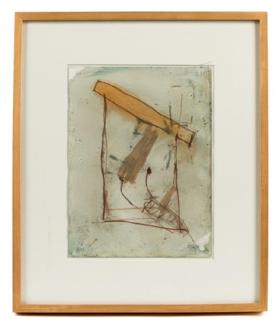 Joan Cruspinera Munoz Abstract Watercolor, 1988