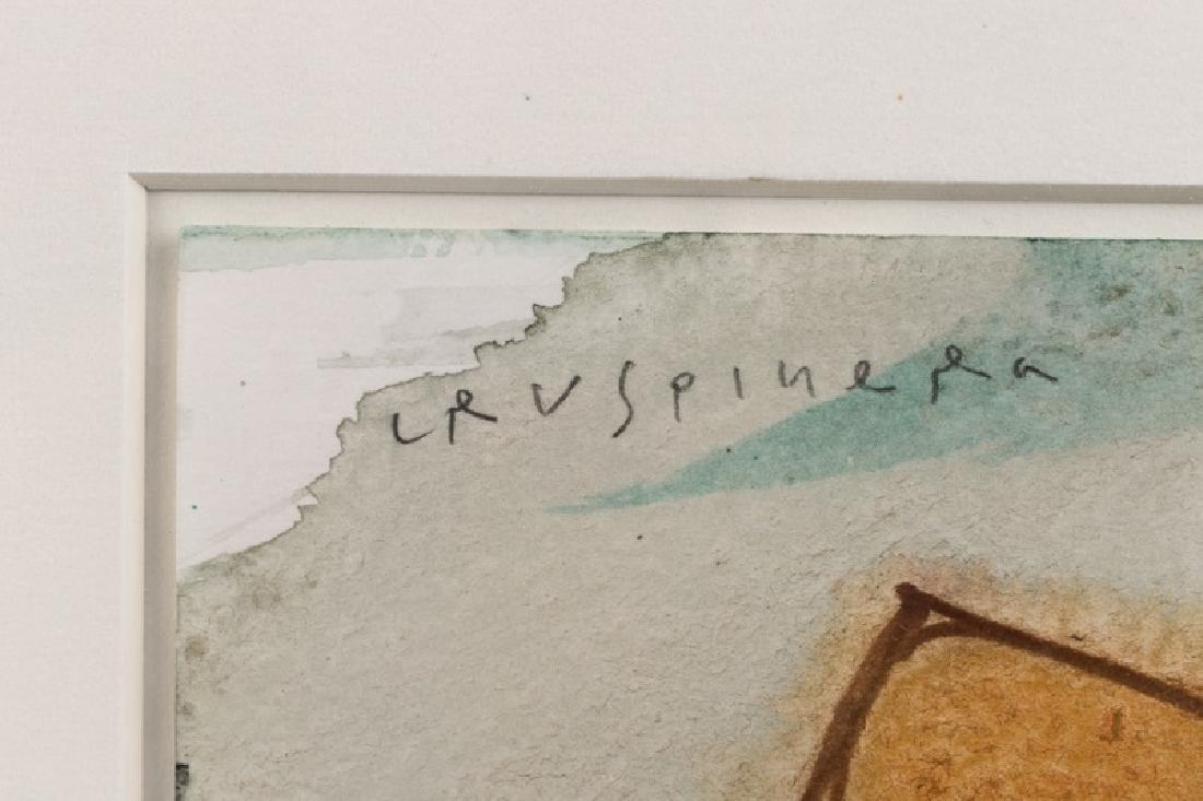 Joan Cruspinera Munoz Abstract Watercolor, 1988 - 2