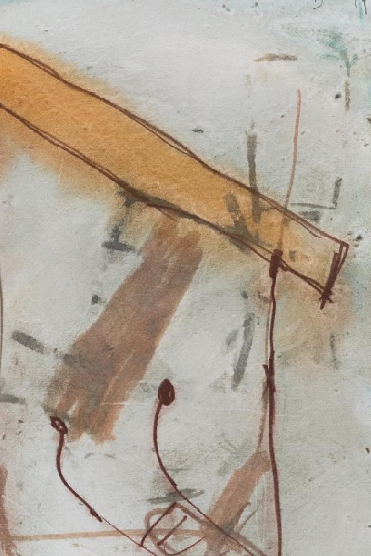 Joan Cruspinera Munoz Abstract Watercolor, 1988 - 3