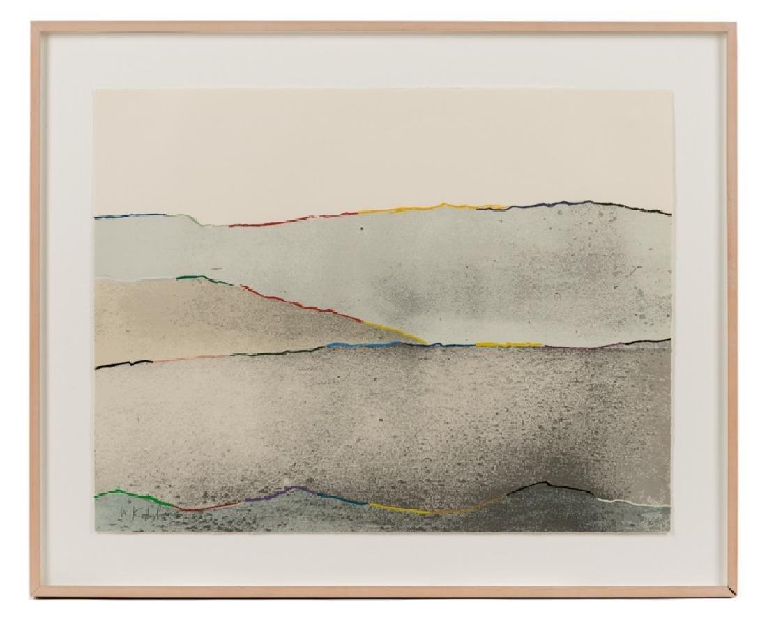 """Menashe Kadishman """"Peace"""", 1978 Lithograph"""