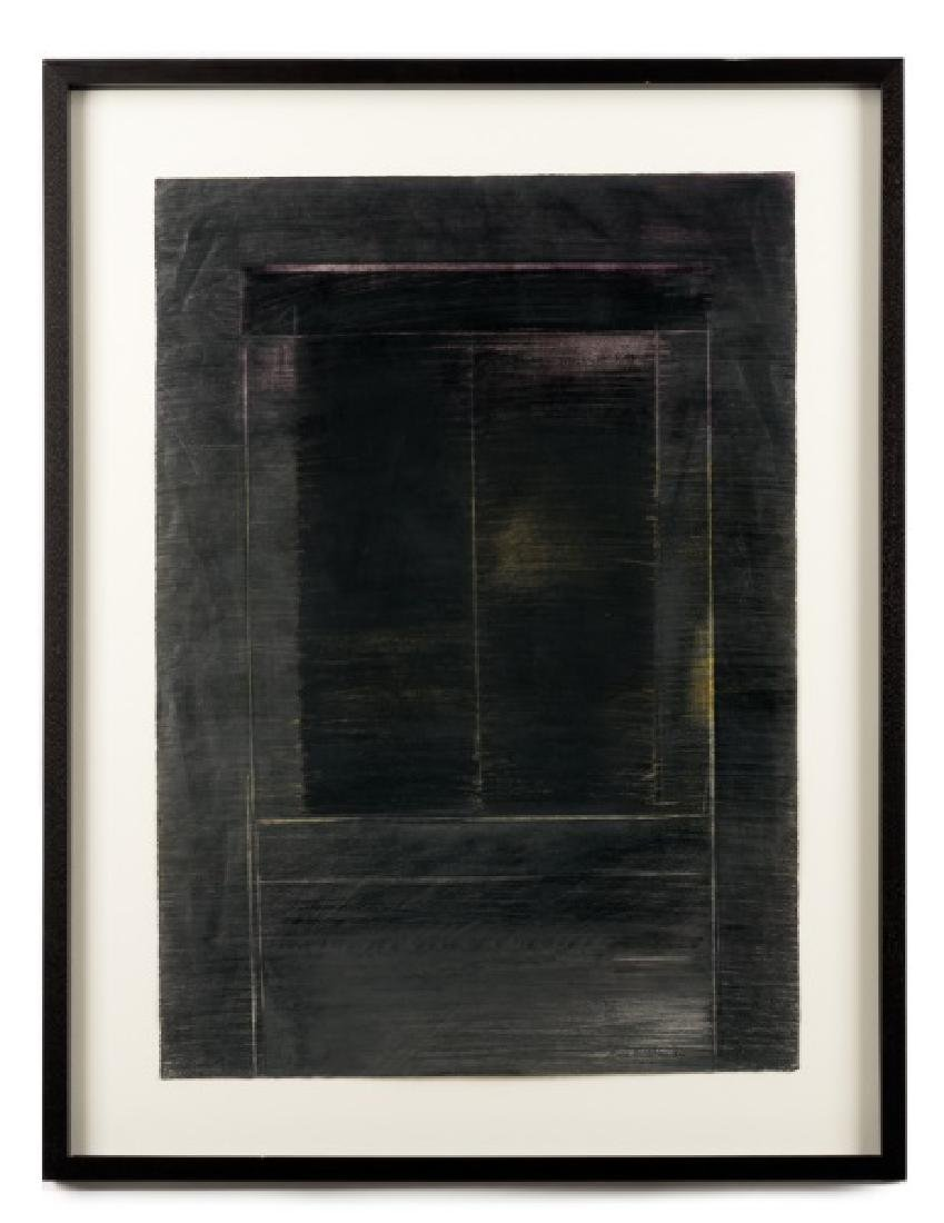 "Anne Madden ""Doorway"" Mixed Media, 1984"