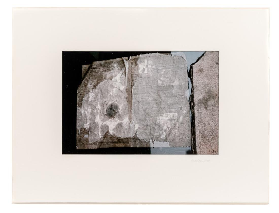 "Mark Gelderman ""Wet Page"" Cibachrome Print, 1984"