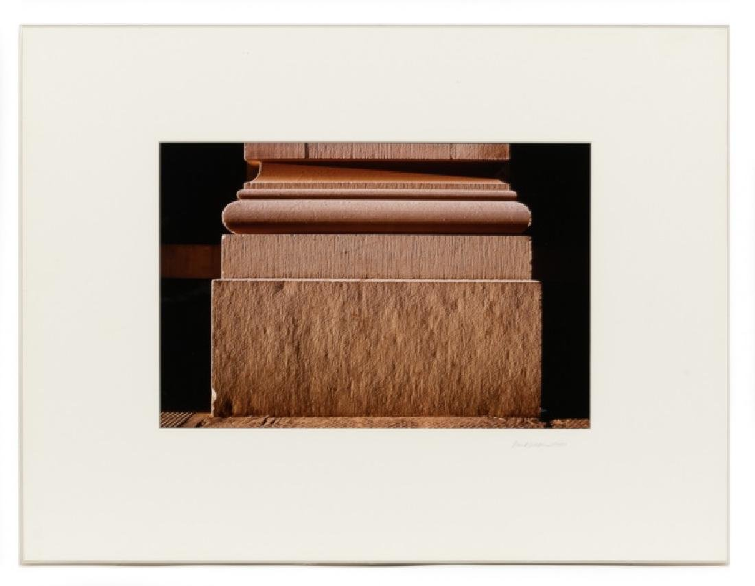 "Mark Gelderman ""Pilaster"" Cibachrome Print, 1984"