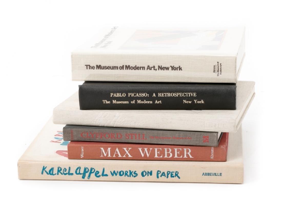 Group of 6 Modern Art Books