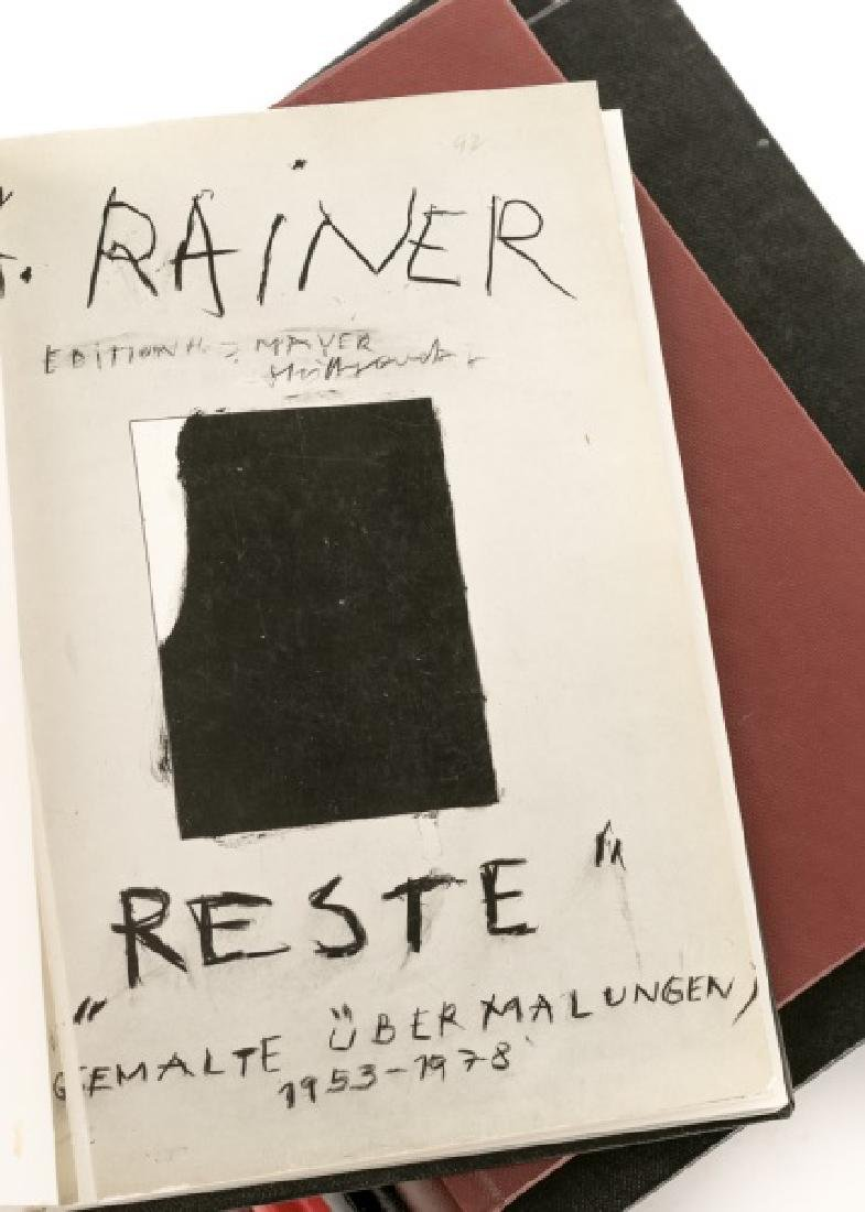 Group of 11 Books and Catalogs on Arnulf Rainer - 2