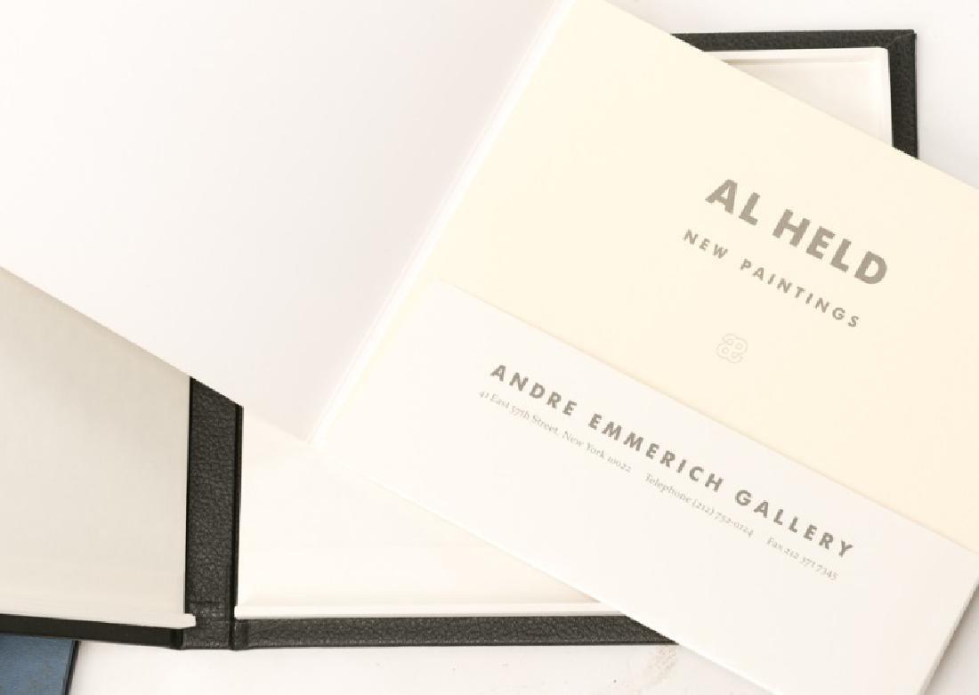 Group of 12 Art Books on Al Held - 3