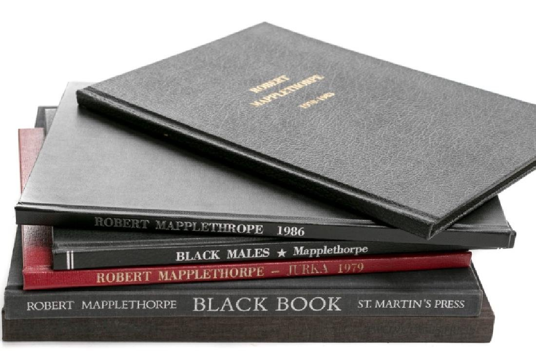 6 Books on Robert Mapplethorpe and JP Witkin