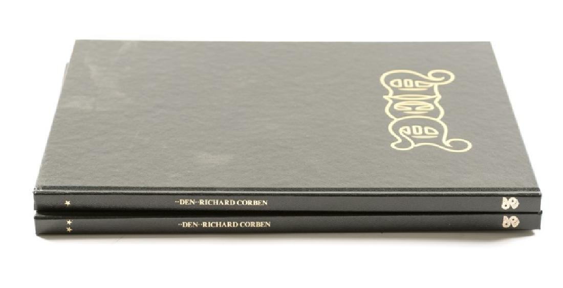 "Signed ""Den"" 2 Volumes By Richard Corben"