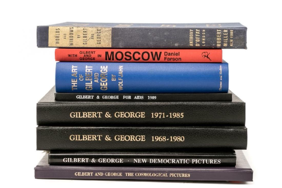 Group of 8 Books on Gilbert and George