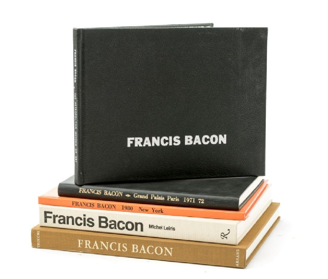 Group of 5 Books on Francis Bacon
