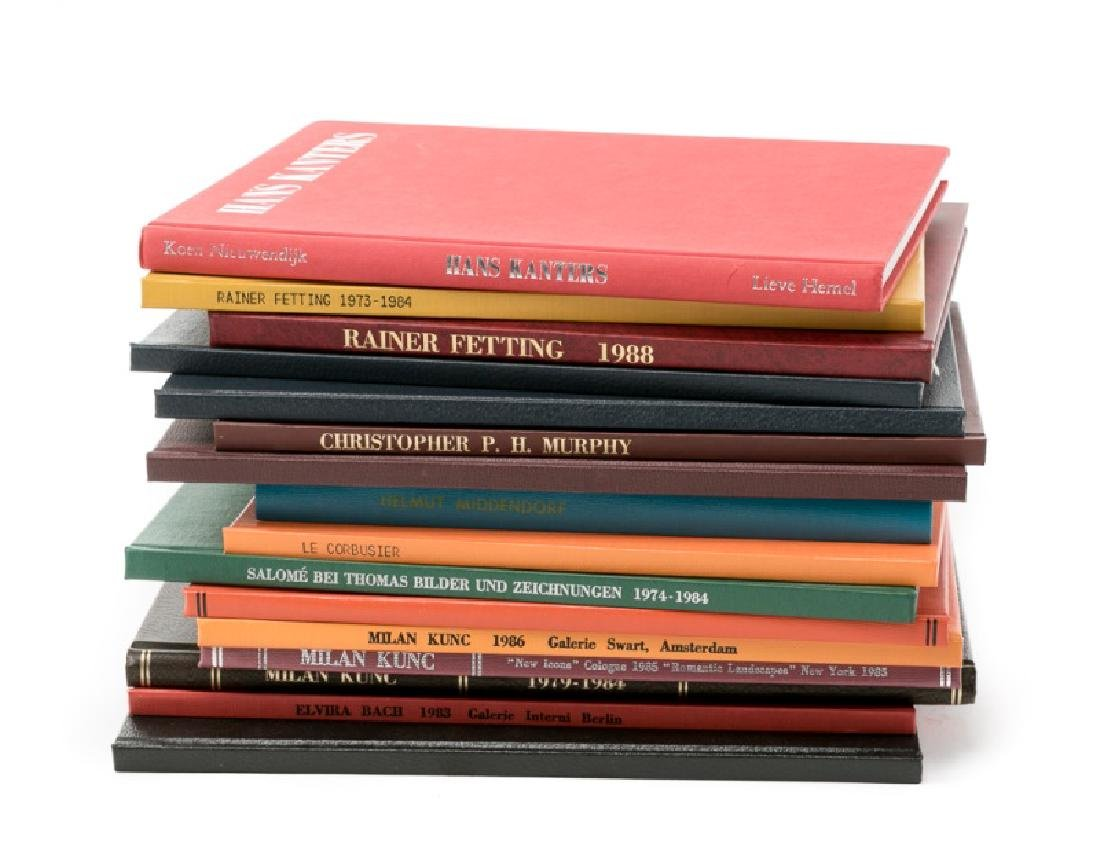 Group of 16 Bound Art Books and Catalogues