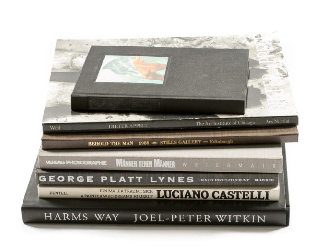 Photography Books, Castelli, Witkin, Lynes, Etc.