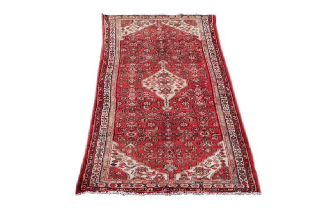 Hand Woven Persian Hamadan, 3' 3'' x 9' 8''