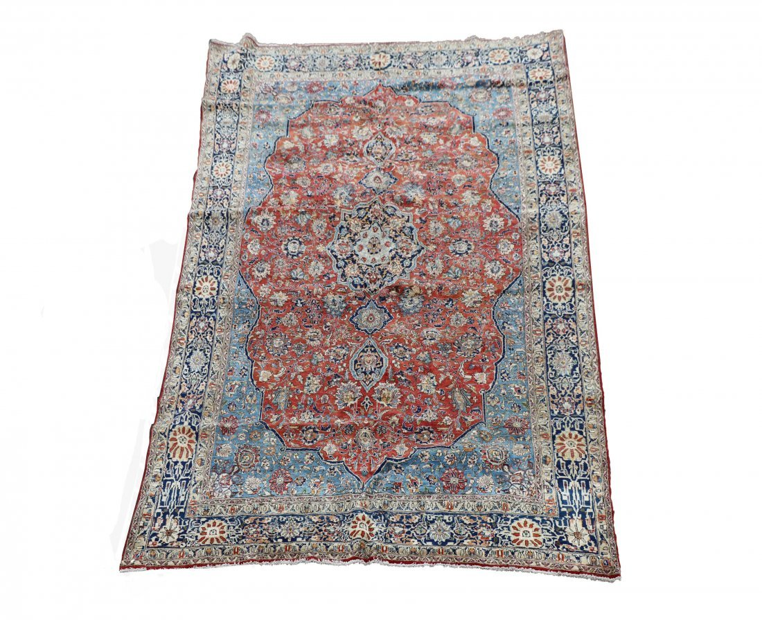 "Hand Woven Isfahan 8' 7"" x 13' 1"""