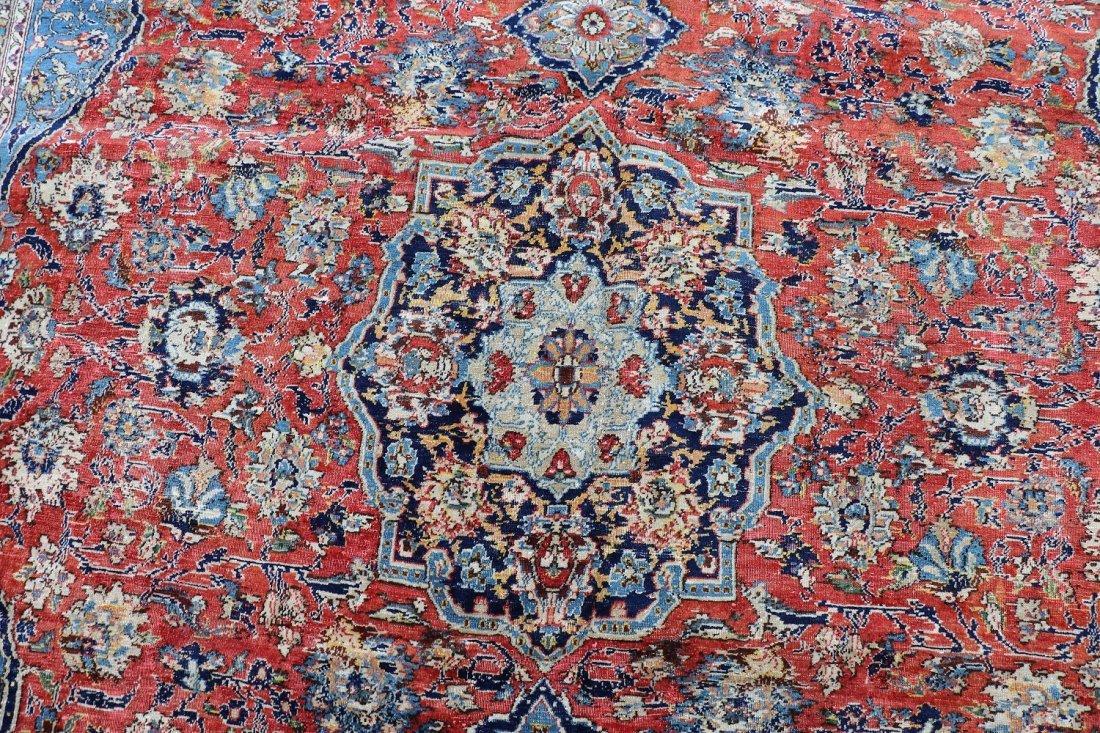 "Hand Woven Isfahan 8' 7"" x 13' 1"" - 2"