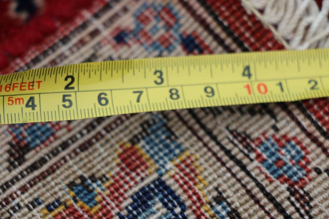 "Hand Woven Isfahan 8' 7"" x 13' 1"" - 4"