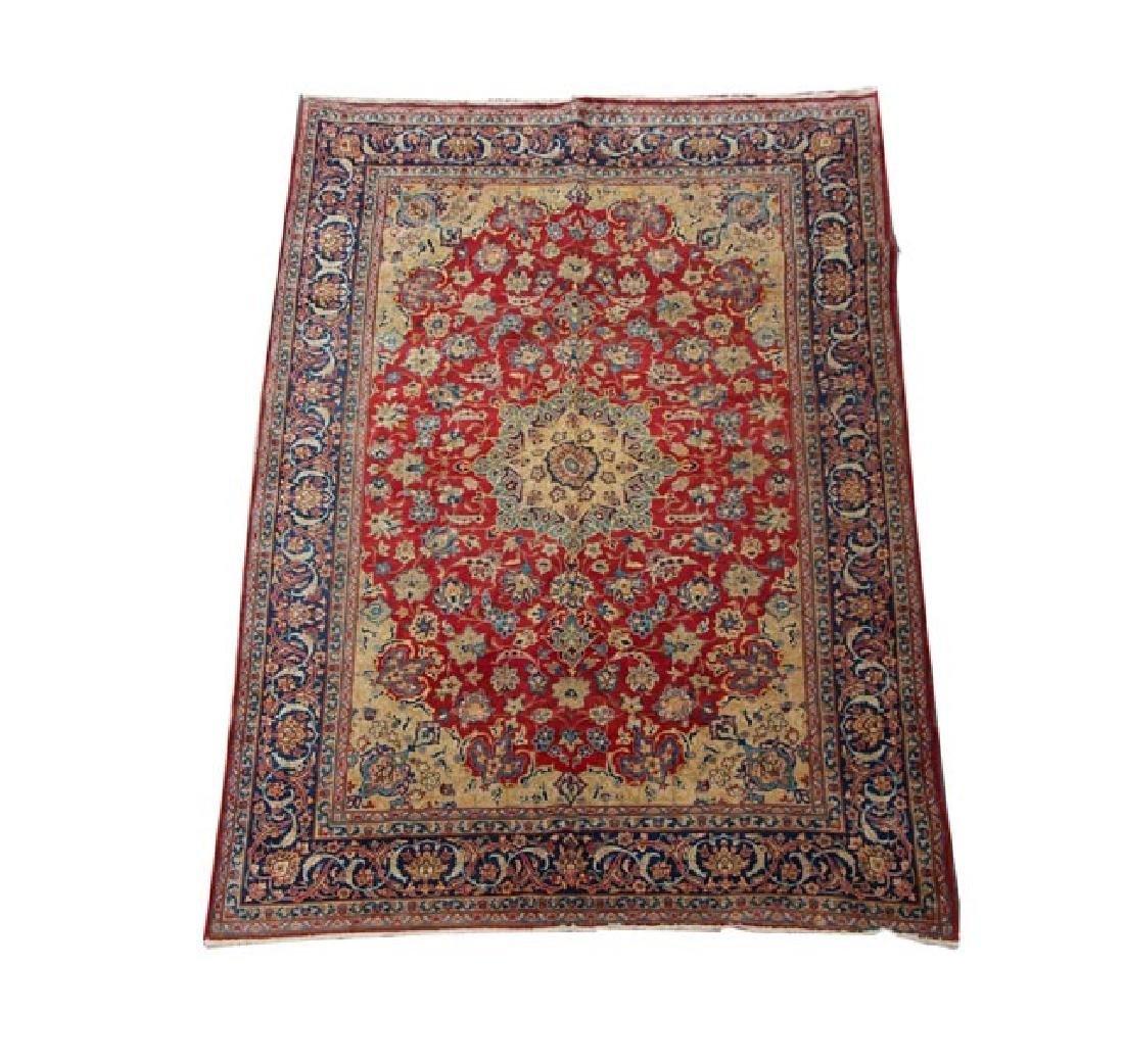 Hand Woven Persian Isfahan 8' 10'' x 12'