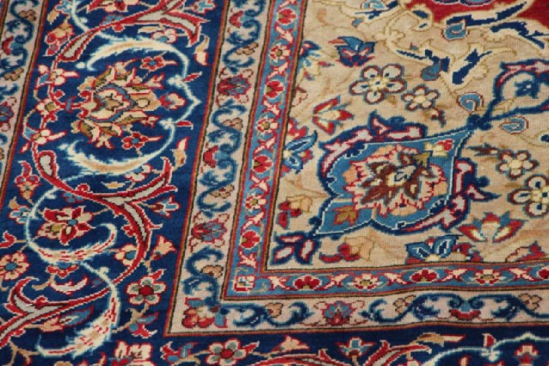Hand Woven Persian Isfahan 8' 10'' x 12' - 4