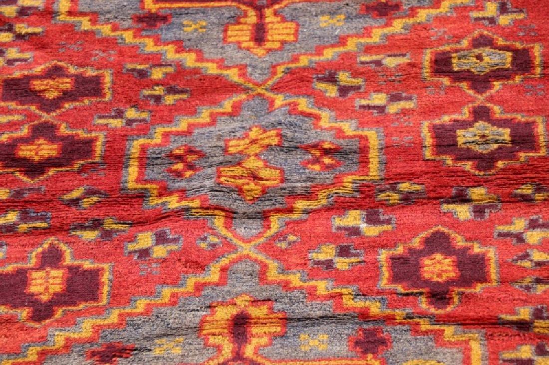 Hand Woven Persian Kurdish Rug 3' 9'' x 6' 8'' - 2