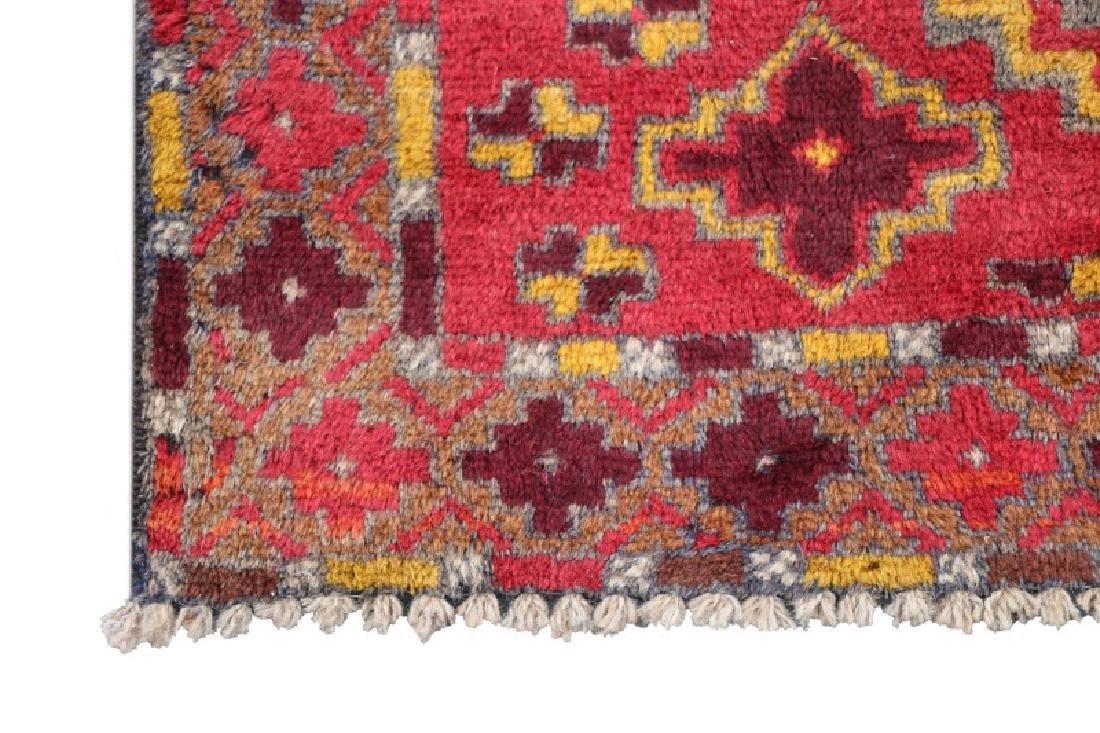 Hand Woven Persian Kurdish Rug 3' 9'' x 6' 8'' - 3