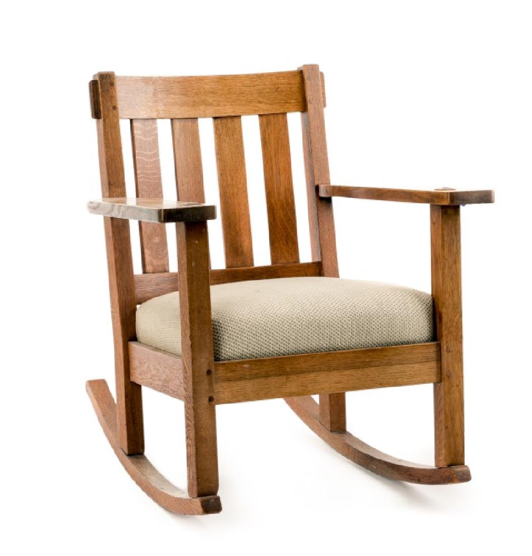 Stickley & Brandt Mission Rocking Chair