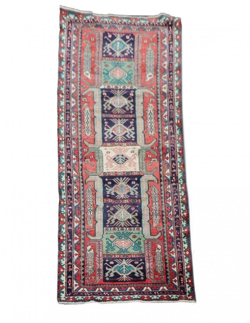 Hand Woven Persian Mashkin 4' x 10'