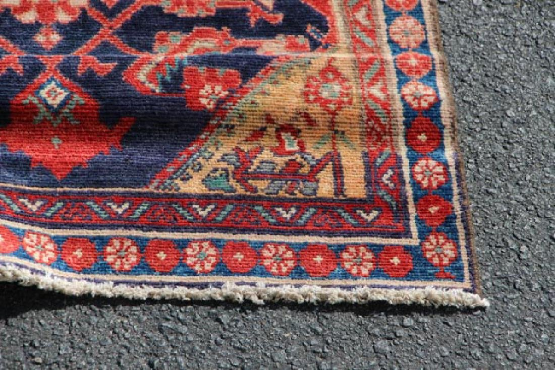 Hand Woven Persian Malayer Rug - 6