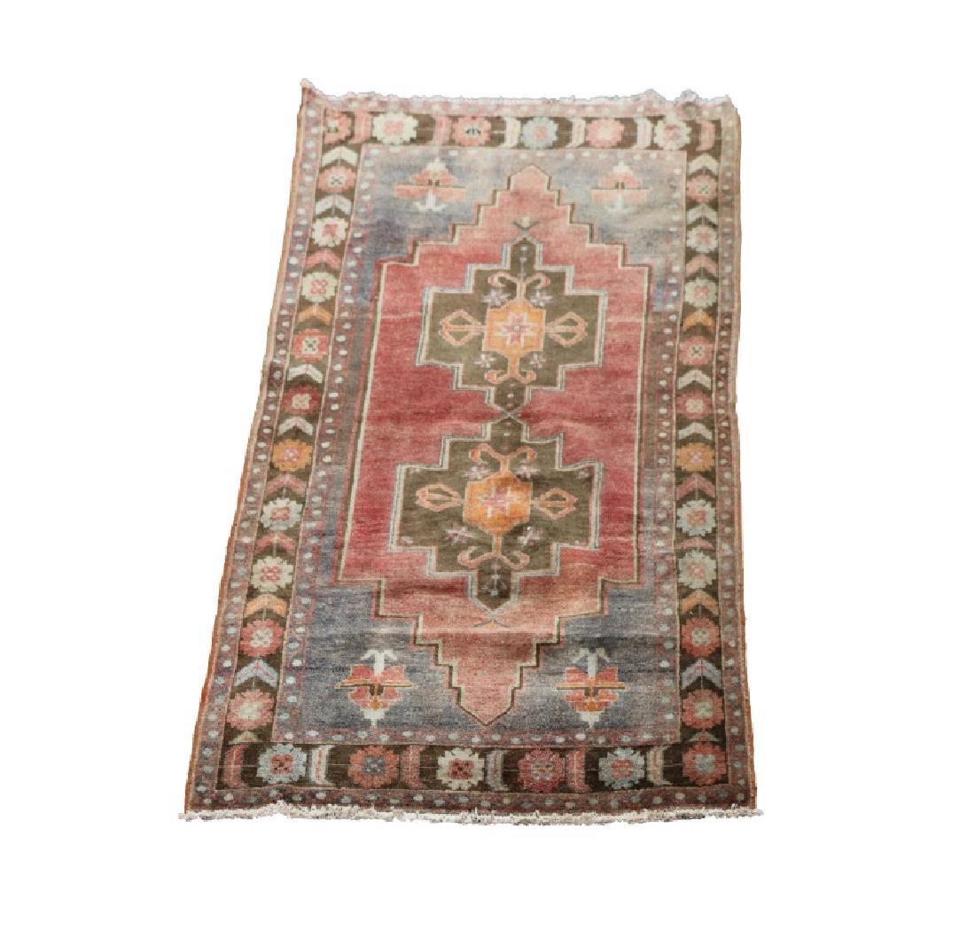 Hand Woven Anatolian Rug 4' 1'' x 8' 2''