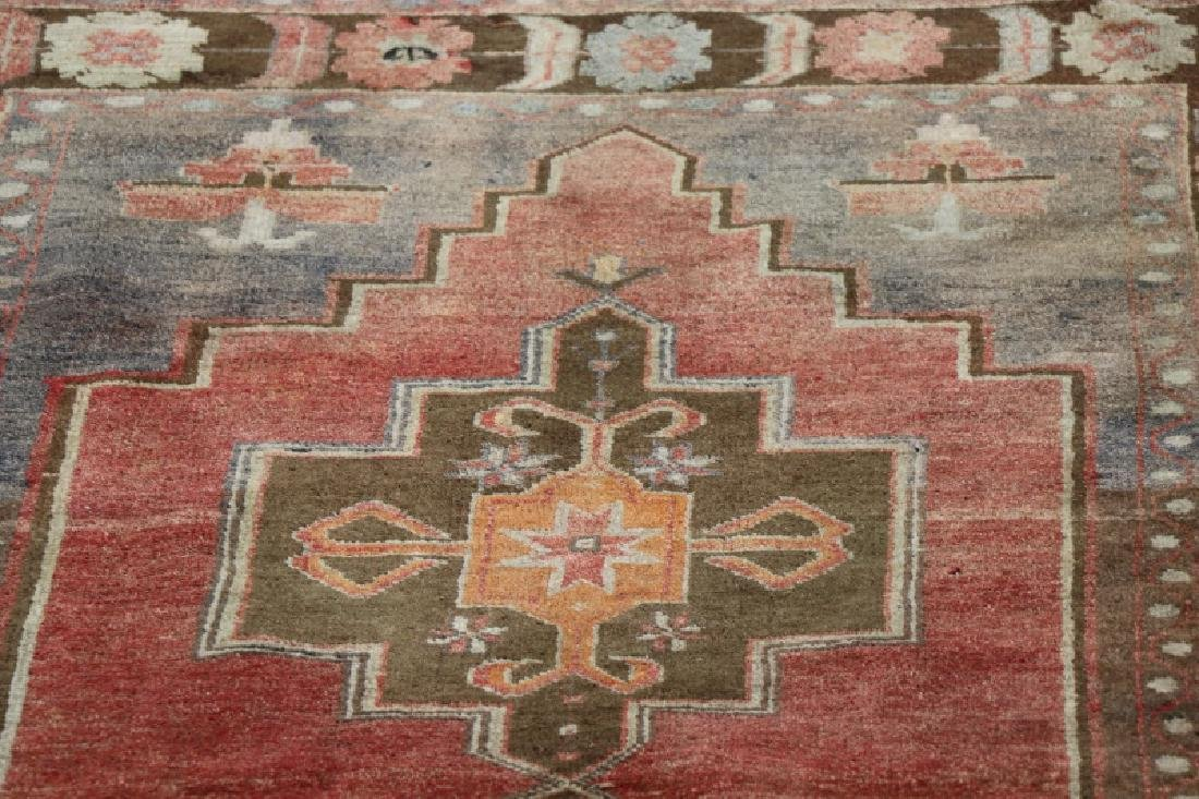 Hand Woven Anatolian Rug 4' 1'' x 8' 2'' - 2