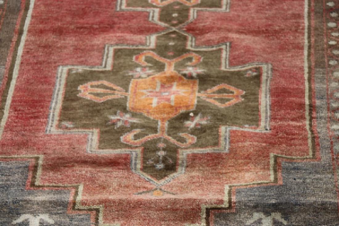 Hand Woven Anatolian Rug 4' 1'' x 8' 2'' - 3