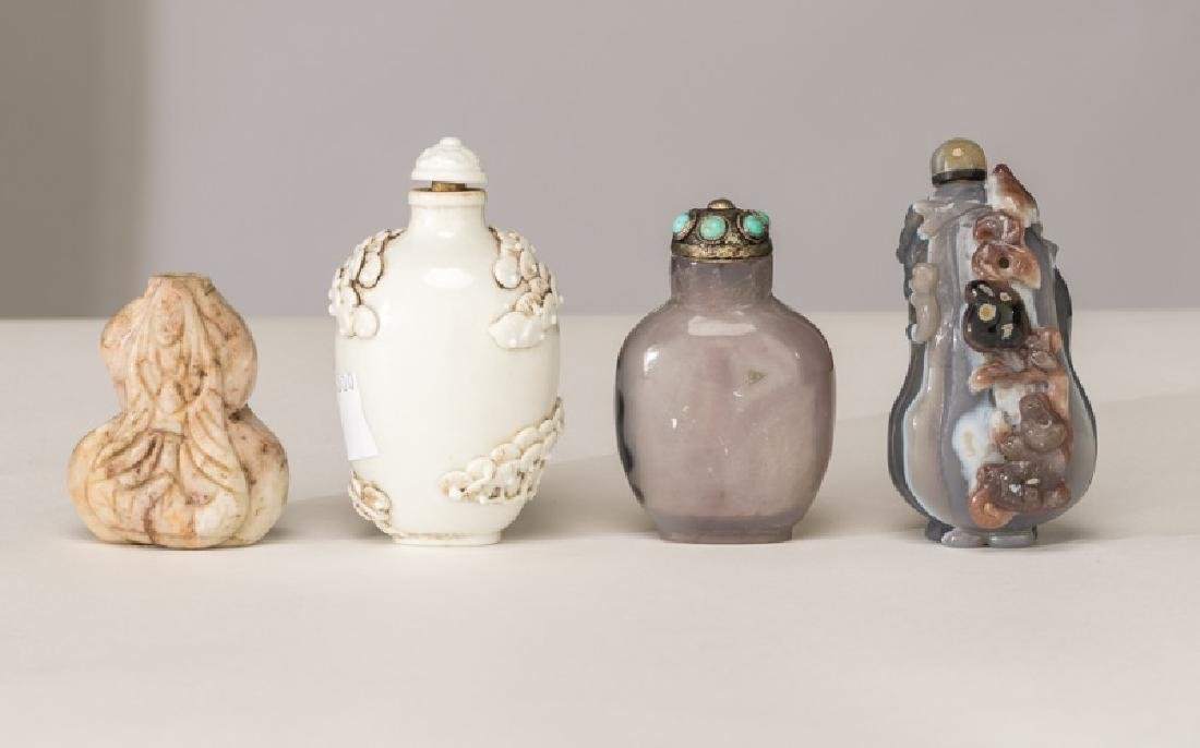 Collection of Four Chinese Snuff Bottles - 10