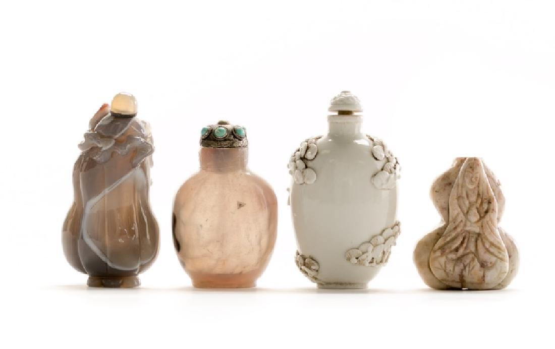 Collection of Four Chinese Snuff Bottles - 2