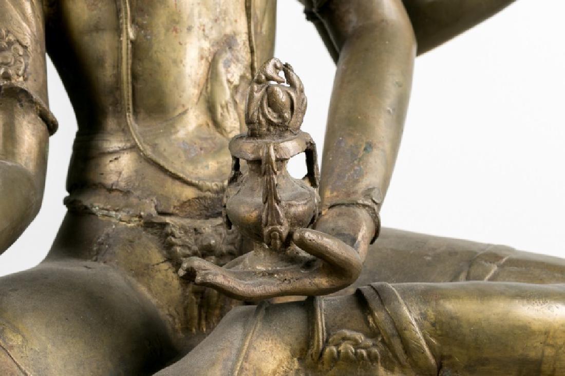 Impressive Large Southeast Asian Figure of Tara - 6