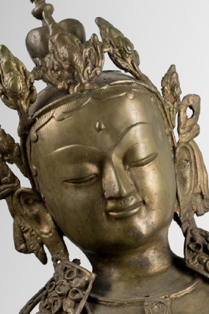Impressive Large Southeast Asian Figure of Tara - 7