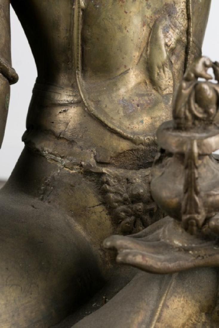 Impressive Large Southeast Asian Figure of Tara - 8