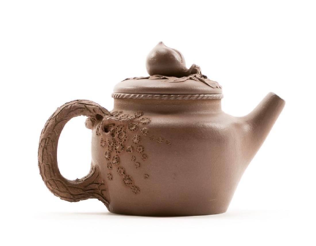 Chinese Yixing Zisha Teapot, Marked