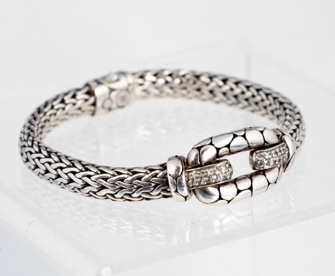 """John Hardy Sterling """"Kali"""" Cable Bracelet"""