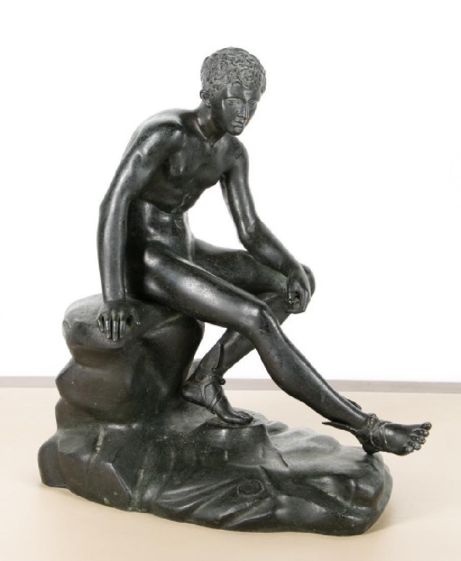 Chiurazzi Foundry, Seated Figure of Mercury Bronze
