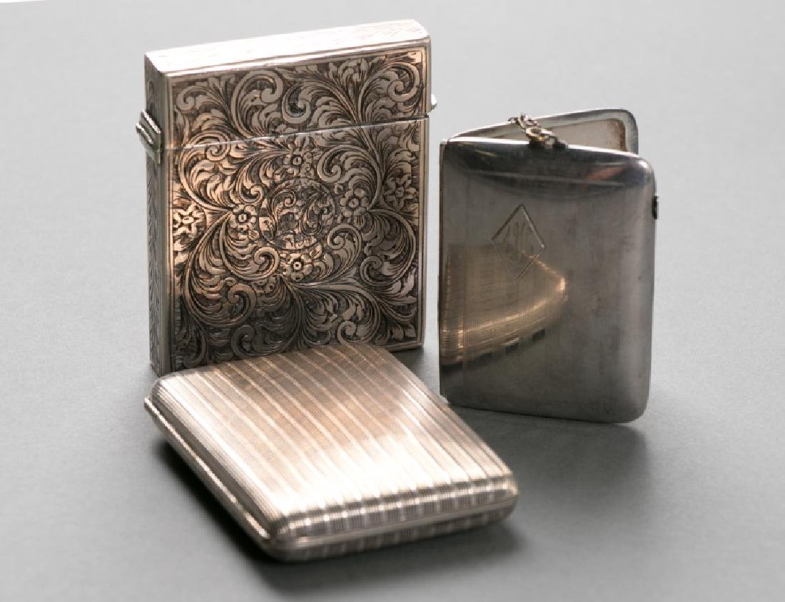 Group of 3 Silver Accessories