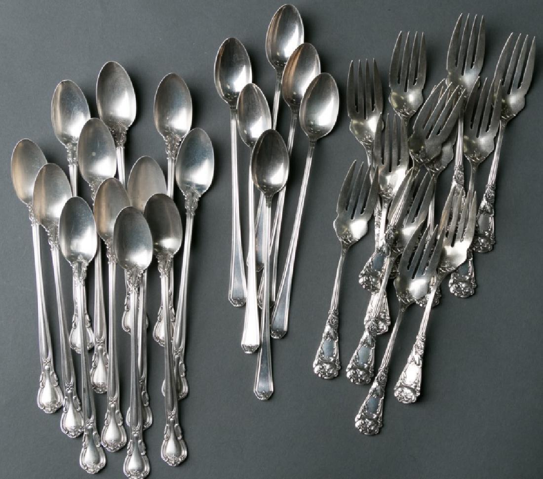 "Sterling Spoons & Forks, Incl. Durgin ""Magnolia"""