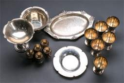 Group, 15 Pieces of American Sterling Silver